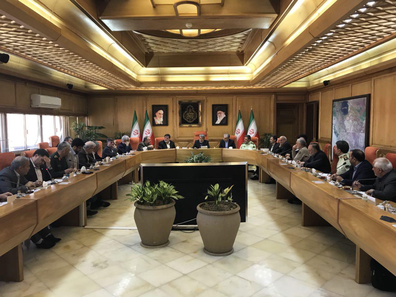 دومین جلسه شوراى عالى مدیریت بحران به ریاست وزیر کشور برگزار شد
