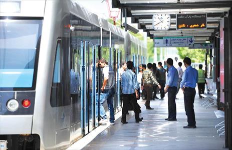 سرویسدهی ویژه خطوط قطار شهری در ایام عزاداری پایان ماه صفر