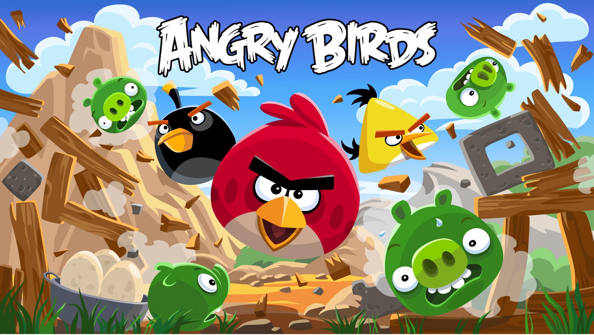 دانلود Angry Birds 7.7.7 – بازی پرندگان خشمگین
