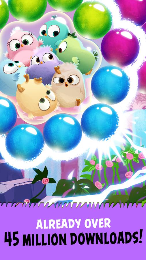 دانلود Angry Birds POP Bubble Shooter 3.21.0 بازی انگری بیردز استلا پاپ
