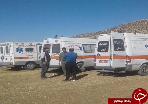 درمان اکثر از ۹۴ زلزله زده در بیمارستان صحرایی قزوین
