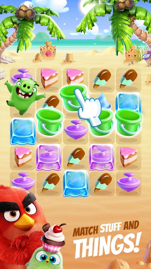 دانلود Angry Birds Match 1.1.2 بازی جورچین انگری بردز