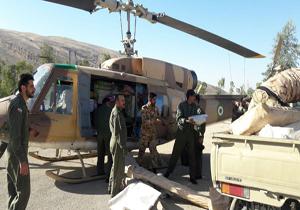 حضور ۵۰ بالگرد هوانیروز برای امدادرسانی در نقاط صعبالعبور/ تدارک ۴هزار چادر برای زلزله زدگان غرب کشور