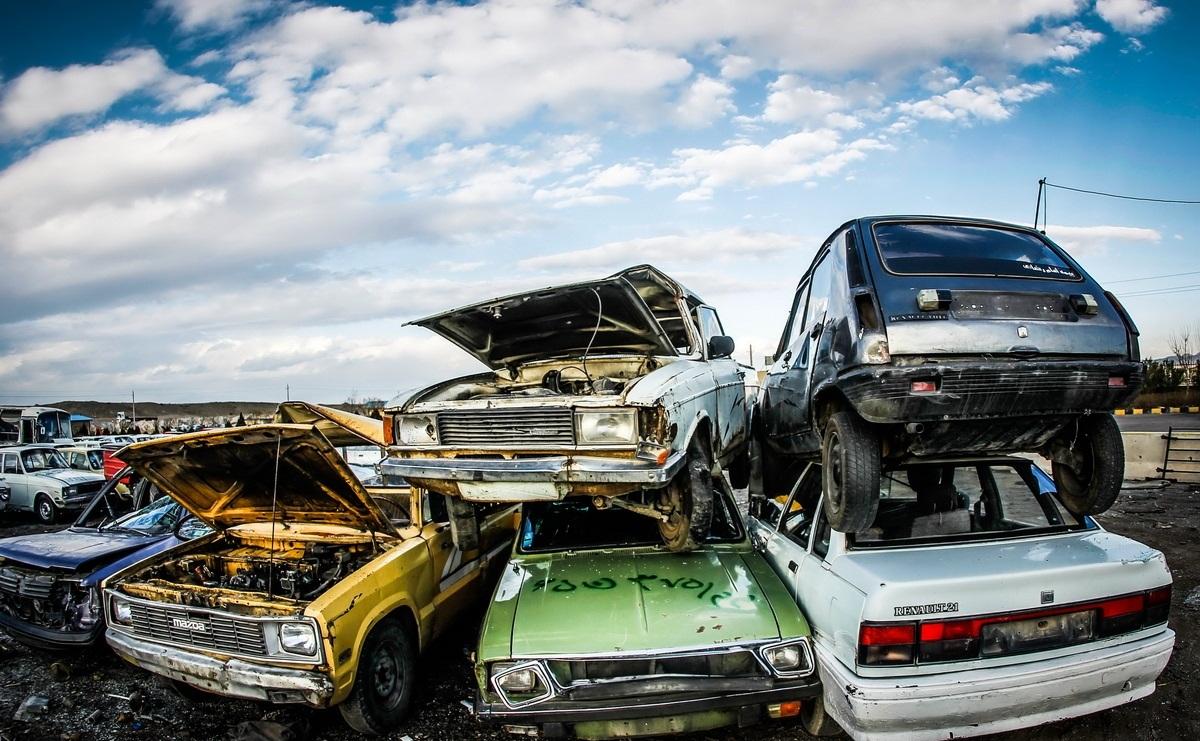 980 هزار خودرو فرسود از سال 92 از چرخه تردد خارج شده است
