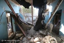 باشگاه خبرنگاران - خسارات زلزله در محله فولادی های شهرستان سر پل ذهاب