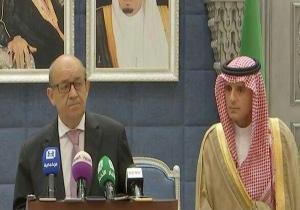 تکرار اتهامات علیه ایران در کنفرانس خبری مشترک وزرای خارجه عربستان و فرانسه