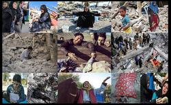 جدیدترین خبرها از وضعیت زلزله زدگان استانهای غرب کشور+فیلم و تصاویر