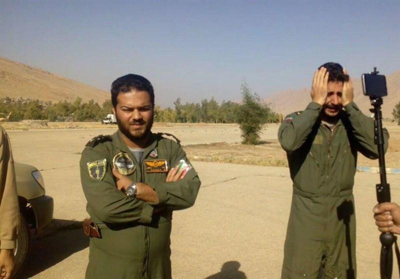 شهادت پرسنل کادر هوانیروز ارتش در حین انجام ماموریت کمکرسانی زلزله غرب کشور