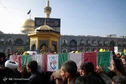 باشگاه خبرنگاران - تشییع پیکر دو شهید مدافع حرم در مشهد