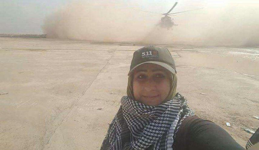 خبرنگار زن عراقي شهيد شد