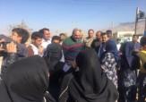 باشگاه خبرنگاران - گزارش فوتبال یکی از مصدومان زلزله در حضور جواد خیابانی + فیلم