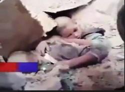 نجات  معجزه آسای دو  کودک محبوس در زیر آوار+فیلم