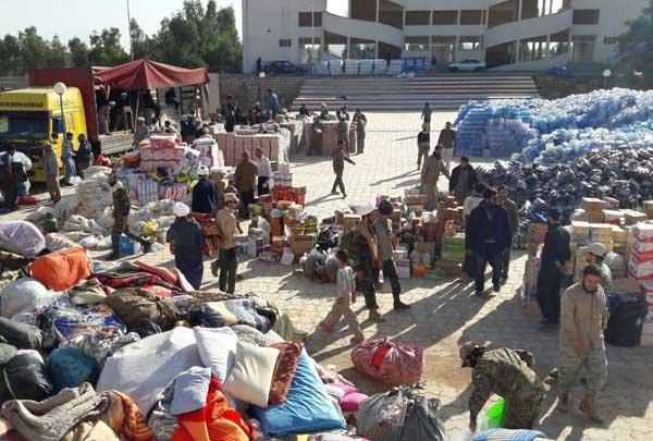 کمک های ارسالی مردم به زلزله زدگان بیش از میزان نیاز است