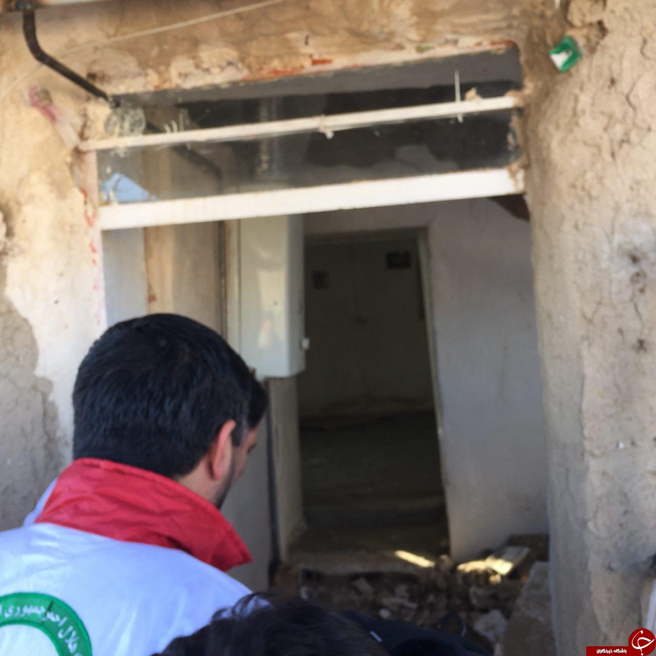 اختصاصی باشگاه خبرنگاران/ تصاویر مناطق زلزله زده کرمانشاه