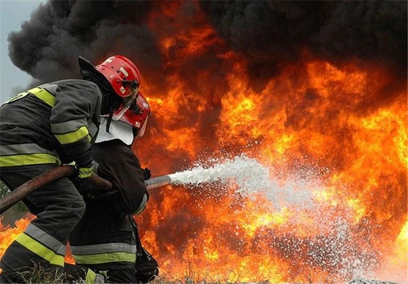 آتش گرفتن ساختمانی 6 طبقه در نیویورک