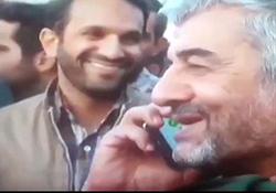 انتشار نوار کامل گفتگوی تلفنی فرمانده کل سپاه پس از دروغ پردازی های خبرگزاری های معاند + فیلم