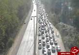 باشگاه خبرنگاران -جادههای مازندران به سمت تهران با ترافیک سنگین +تصاویر