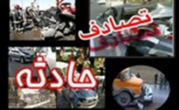 باشگاه خبرنگاران -۱۵ مصدوم در تصادف تراکتور با خودروی نیسان