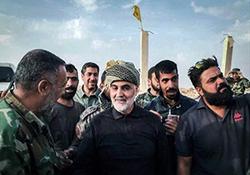 جدیدترین فیلم از حضور سردار سلیمانی در بوکمال سوریه