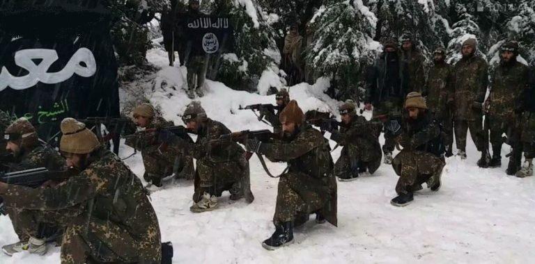 رونمایی داعش از پادگان جدید در افغانستان + تصاویر