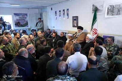 باشگاه خبرنگاران -جلسه رسیدگی به مشکلات زلزلهزدگان استان کرمانشاه باحضور رهبر معظم انقلاب