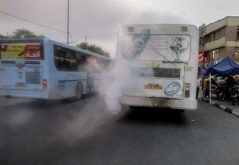 نصب فیلتر ذرات برای اتوبوس های جدید عملیاتی نشد