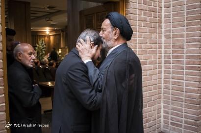 باشگاه خبرنگاران -مراسم ختم پدر بهرام قاسمی سخنگوی وزارت امور خارجه