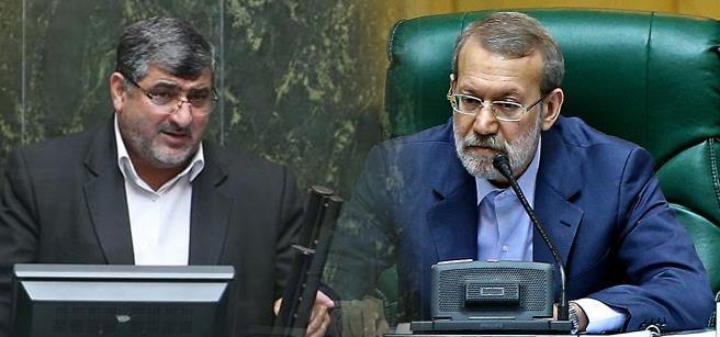 دلخوش: آقای لاریجانی شما هیچ شأنی برای نمایندگان قائل نیستید/لاریجانی: آقای دلخوش احساسی صحبت نکنید