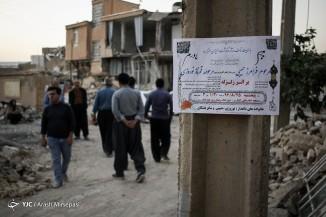خسارات وارده به روستاهای کرند، پیران، کوهالی، رفیع و سر پل ذهاب دراثر زلزله