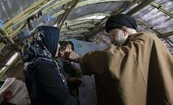 رهبر انقلاب تاکنون در کدام مناطق زلزلهزده حضور پیدا کردهاند؟ +تصاویر