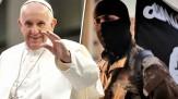 باشگاه خبرنگاران -انتشار پوستر وحشتناک داعش برای تهدید پاپ فرانسیس+ تصاویر (۱۶+)