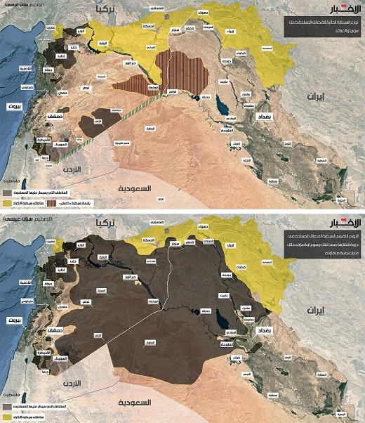 بقایای تروریستهای داعش در کدام مناطق سوریه حضور دارند ؟ +نقشه