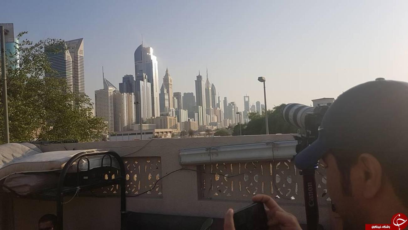 نخستین تصاویر منتشر شده  از پشت صحنه لاتاری در دوبی