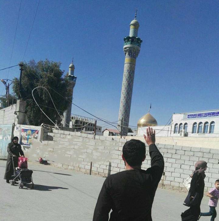 حرم حضرت زینب(س) پس از پایان داعش + عکس