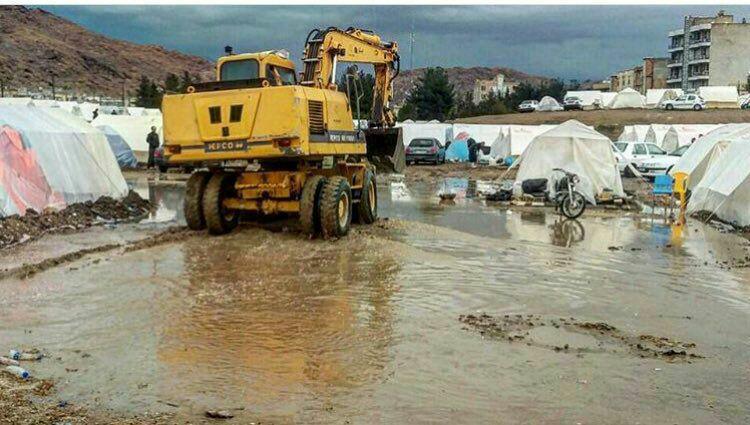 آخرین وضعیت امداد رسانی به زلزله زدگان غرب کشور+فیلم و تصاویر