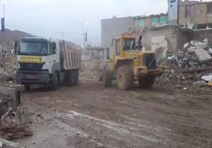 آغاز بازسازی مناطق زلزله زده توسط بنیاد مسکن انقلاب اسلامی +فیلم