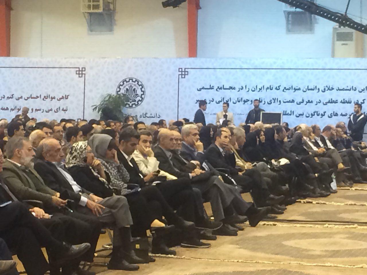 عادل فردوسی پور در مراسم بزرگداشت پروفسور مریم میرزاخانی+عکس