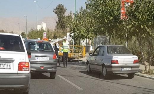وقتی اعمال قانون،ترافیک زا می شود! + فیلم