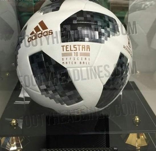 تصویر لو رفته از  توپ جام جهانی ۲۰۱۸ روسیه