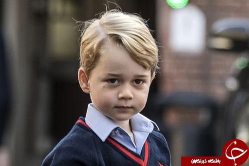 تهدید داعش به کشتن پرنس جرج در مدرسه+ تصاویر