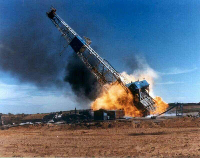 آتش سوزی در میدان نفتی رگسفید /تاکنون ۴ نفر در این حادثه کشته شدند
