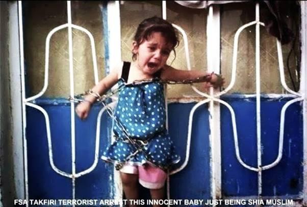 ذبح دختر بچه 3 ساله در مقابل چشمان پدر و مادر