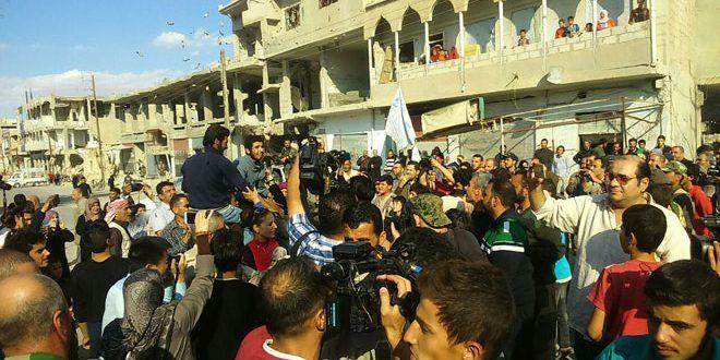 ارتش سوریه دو محله العرفی و العمال واقع در دیر الزور را به دست گرفت