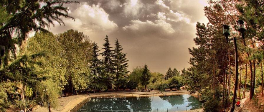 پاتوق رمانتیک بالای شهر تهران +تصاویر