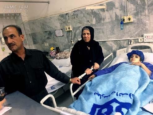 نجات معجزه آسای 6 نفر از مجروحان زلزله کرمانشاه+تصاویر