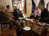 نماینده معاون اول رئیس جمهور با محمدعلی کشاورز دیدار کرد