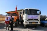 باشگاه خبرنگاران - ارسال ۱۷ کامیون کمک مردم تفرش به زلزله زدگان