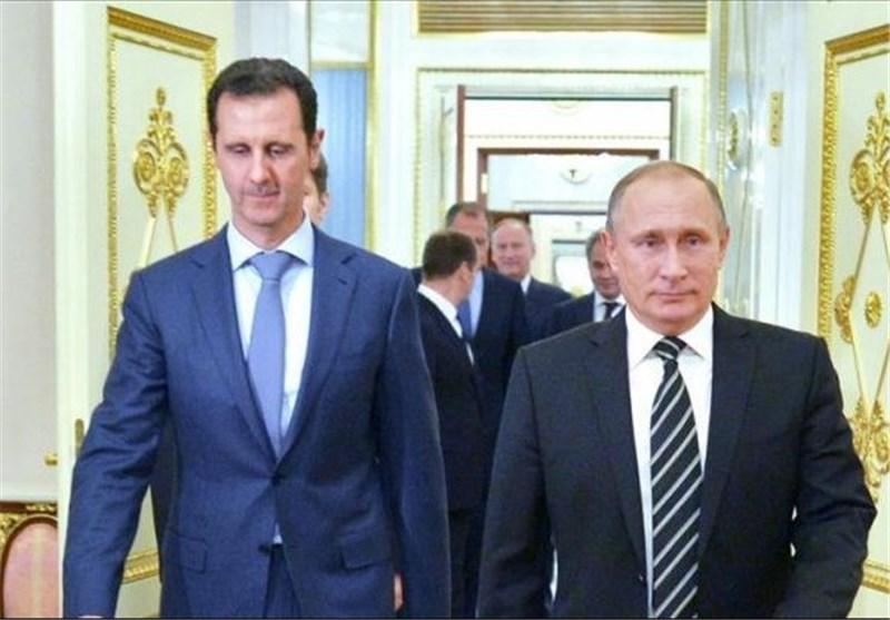 سفر بشار اسد به سوچی با یک هواپیمای جنگی روس
