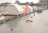 باشگاه خبرنگاران -بارش باران بر ویرانههای باقی مانده از زلزله در سرپل ذهاب + فیلم