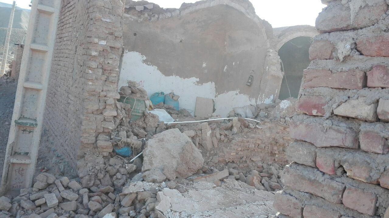 زمین لرزه ۶.۱ ریشتری هجدک را لرزاند/ زلزله کرمان تاکنون خسارت جانی نداشته+تصویر